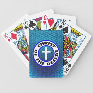 Christ of the Desert Poker Deck