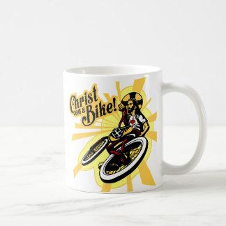 Christ On a Bike Coffee Mug