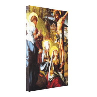 Christ On the Cross by Albrecht Durer Gallery Wrap Canvas