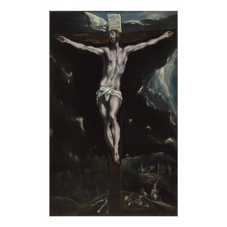 Christ on the Cross by El Greco Photo