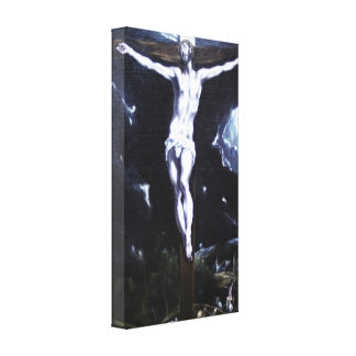 Christ On the Cross by Eugene Greco Canvas Prints