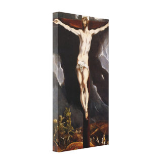 Christ On the Cross  by Eugene Greco Canvas Print