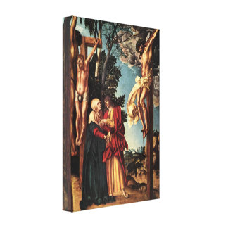 Christ On the Cross by Lucas Cranach Canvas Print
