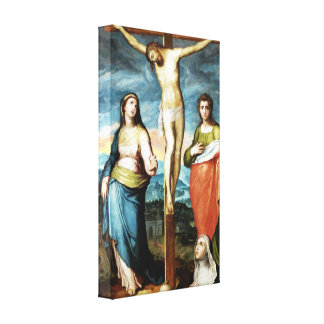 Christ On the Cross by Marco Pino Canvas Print