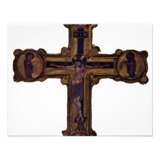 Christ On The Cross By Meister Des Reliquienkreuze Invites