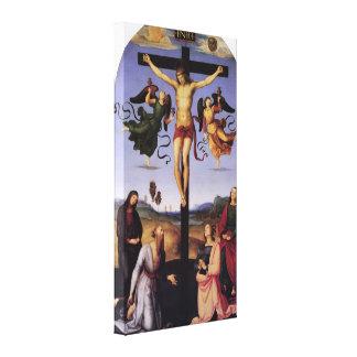 Christ On the Cross by Raffaello Santi Gallery Wrap Canvas