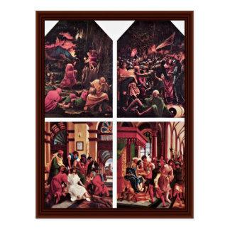 Christ On The Mount Of Olives Postcard