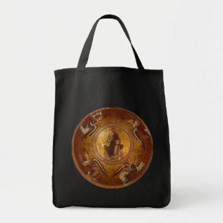 Christ Pantakrator Christian Religious Icon Grocery Tote Bag