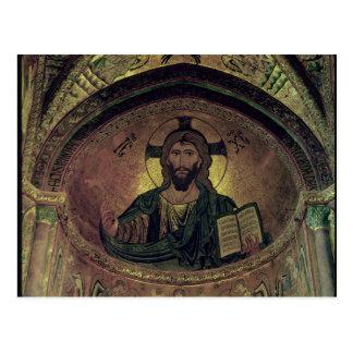 Christ Pantocrat in the apse Postcard