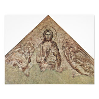 Christ Pantocrator With Angels Fragment By Martini Custom Announcements
