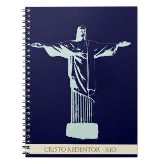 Christ Rio de Janeiro Spiral Notebook
