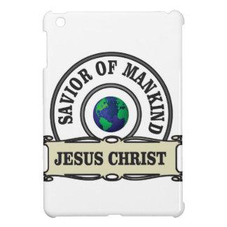 christ savior of all mankind iPad mini cases