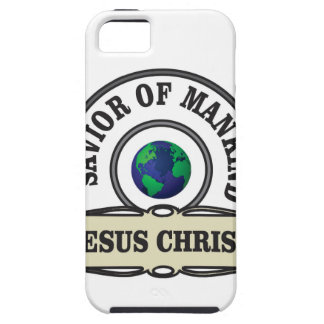 christ savior of all mankind iPhone 5 cases