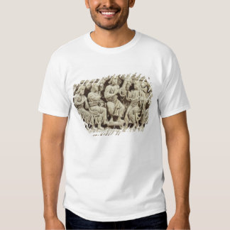 Christ seated and teaching surrounded by the Apost Tee Shirt