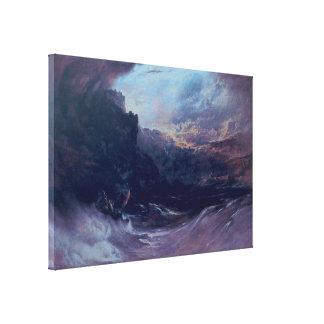 Christ Stilleth the Tempest Canvas Print
