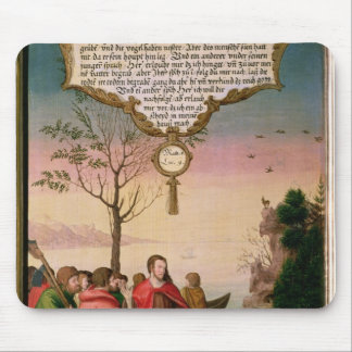 Christ teaching his disciples mouse pad