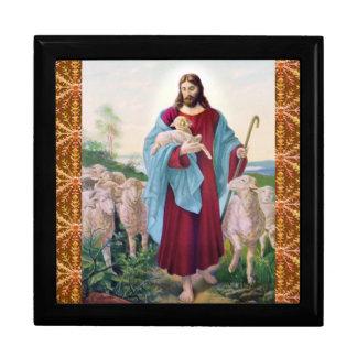 Christ The Good Shepherd Bernard Plockhorst 1878 Gift Box