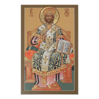 Christ the High Priest Poster