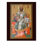 Christ the High Priest Prayer Card Postcard