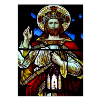Christ the King Prayer Card Large Business Cards (Pack Of 100)
