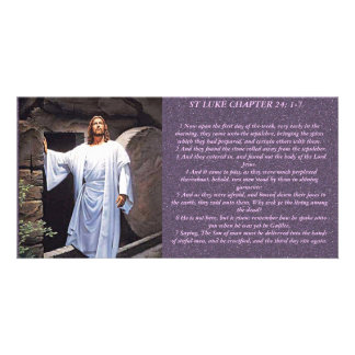 Christ the Lord Has Risen Today Photo Card