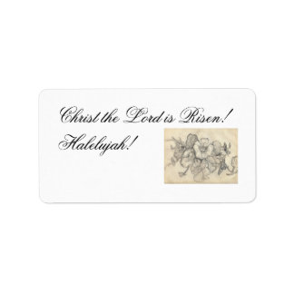 Christ the Lord is Risen! Address Label