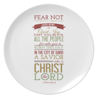 Christ the Lord Plate