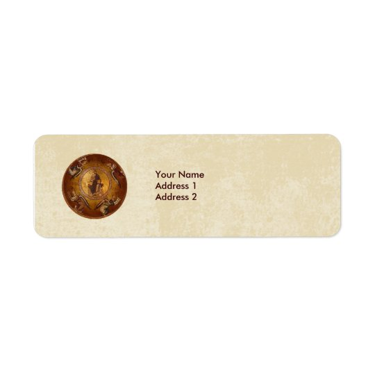 Christ the Pantakrator Christian Religious Icon Return Address Label