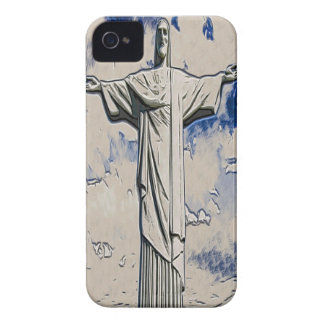 Christ the Redeemer Art iPhone 4 Case