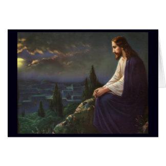 Christ The Redeemer Card