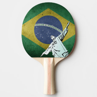 Christ the Redeemer Ping Pong Paddle