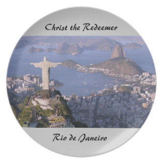 Christ the Redeemer plate