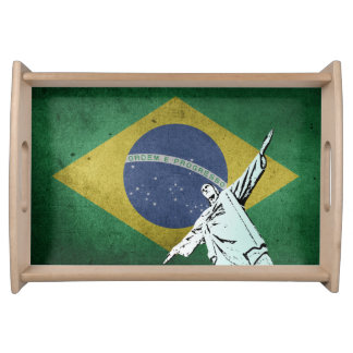 Christ the Redeemer Serving Tray