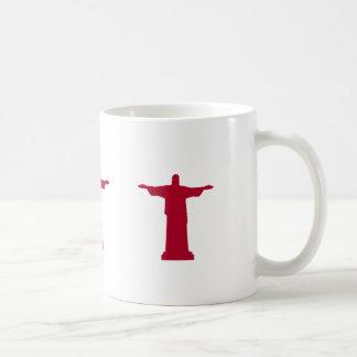 Christ the Redeemer silhouette RJ Coffee Mug
