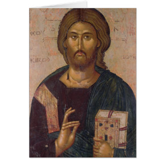 Christ the Redeemer, Source of Life, c.1393-94 Card