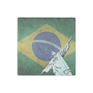 Christ the Redeemer Stone Magnet