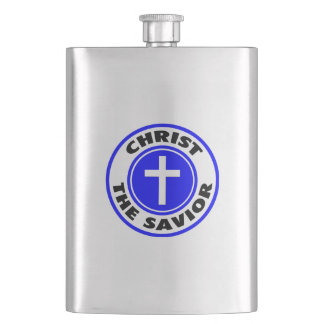Christ the Savior Hip Flask