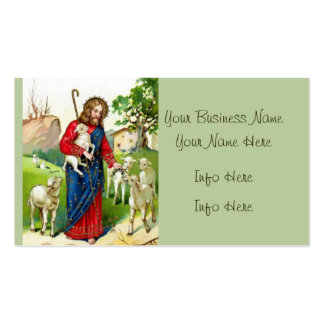 Christ The Shepherd Pack Of Standard Business Cards