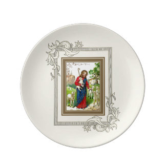 Christ The Shepherd Plate