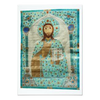 Christ the Teacher 13 Cm X 18 Cm Invitation Card