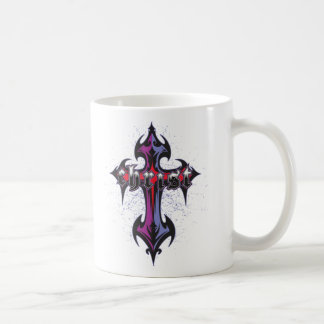 Christ Tribal Cross Coffee Mugs