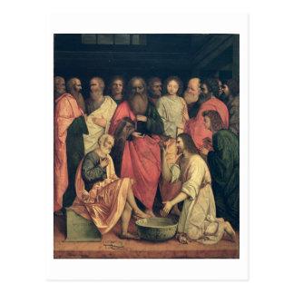 Christ Washing the Disciples' Feet Postcard