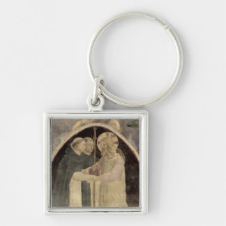 Christ Welcomes Two Dominican Friars, (fresco) (de Key Ring