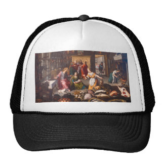 Christ with Martha and Mary by Joos Goemare Cap