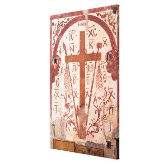 Christain Cross Artwork Canvas Print