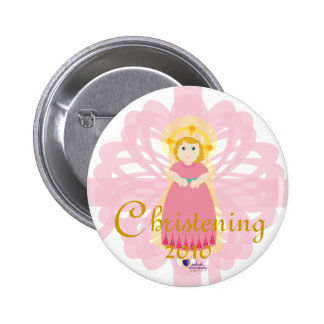 Christening Button- Customize