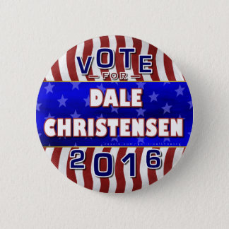 Christensen for President 2016 Election Republican 6 Cm Round Badge