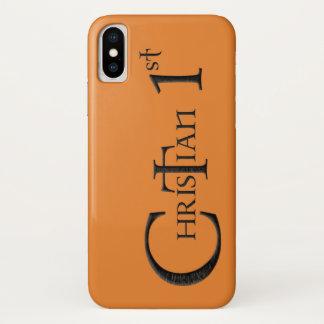 Christian 1st iPhone x case