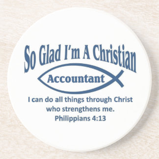 Christian Accountant Coaster