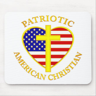 CHRISTIAN AMERICAN DESIGNS MOUSE PAD